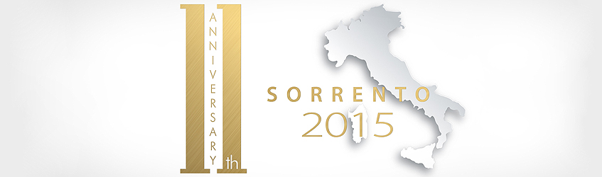 11th FM GROUP Anniversary - 11th-16th SEPTEMBER 2015, Sorrento, Italy