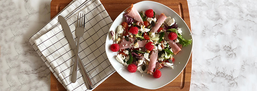 Chcken Salad With Raspberry Vinaigrette
