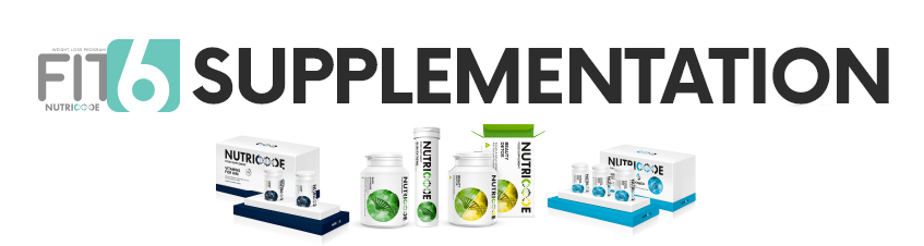 How to combine NUTRICODE food supplements in the FIT6 Programme?